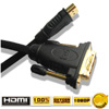 Cable HDMI to DVI 24+1 Cable (1.5-Meter)