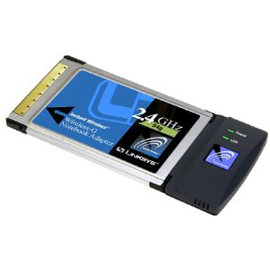 Card PCMCIA WIFI LINKSIS WPC54G