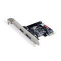 Card PCI Express to 2 port Esata