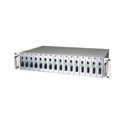 16 slots rack mount ethernet media converter