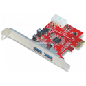 Card PCI-Ex to 2 PORT USB 3.0 Unitek Y-7301
