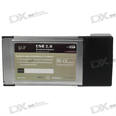 Card PCMCIA to USB