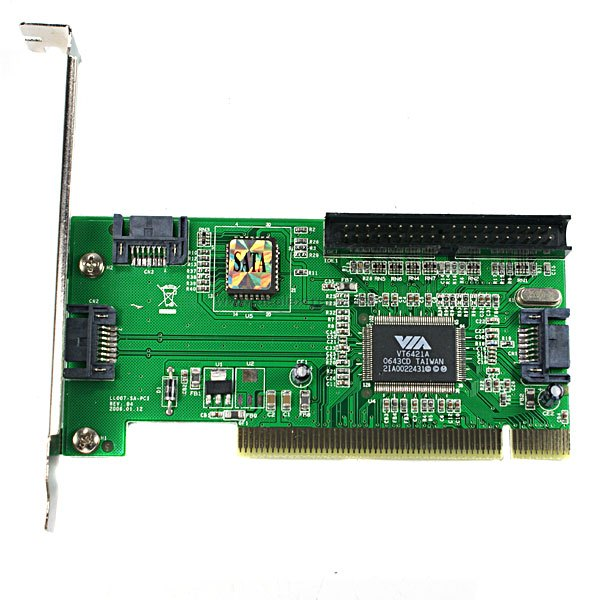 Card PCI to SATA/IDE