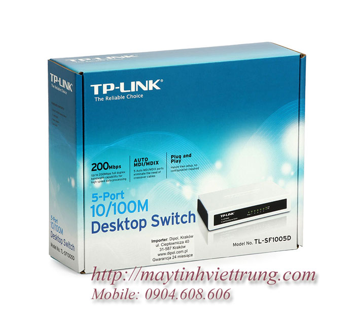 Switch TP Link TL-SF1005D 5 cổng