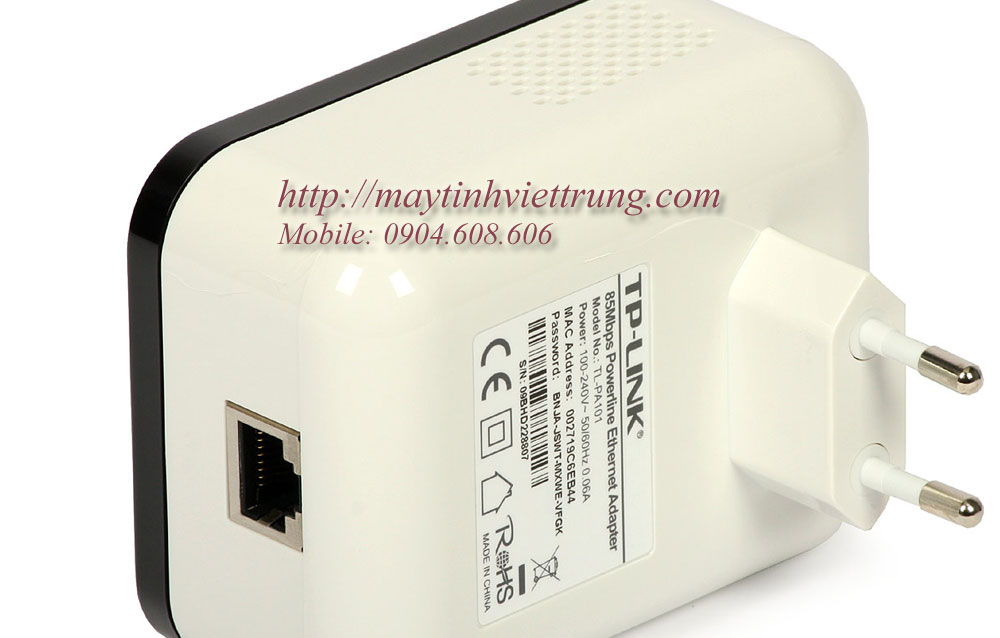 85Mbps Powerline Ethernet Adapter TL-PA101