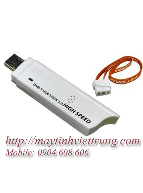 USB Tivi Box cho Laptop  DVB T Digital