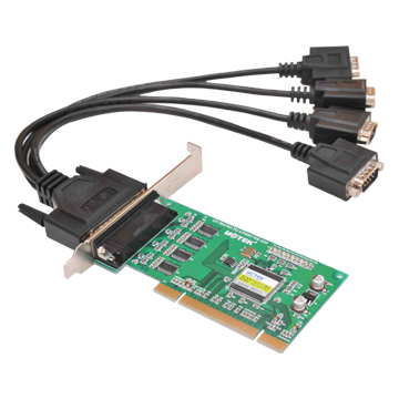 CARD PCI TO 4 CỔNG COM RS232, CARD PCI TO 4 PORT RS232, CARD PCI LPT TO 4 PORT COM
