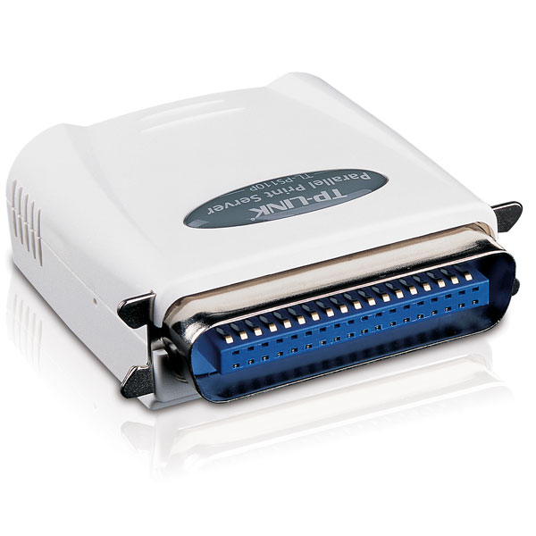 SINGLE PARALLEL PORT FAST ETHERNET PRINT SERVER TL-PS110P, ETHERNET PRINT SERVER TL-PS110P, TL-PS110P