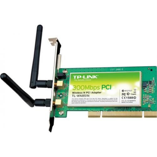 CARD WIFI PCI TL-WN851N 300MBPS,  ADAPTER TL-WN851N, BÁN CARD TL-WN851N