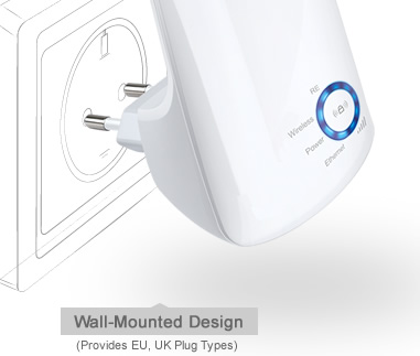 BO PHAT WIFI MO RONG TP-LINK 300MBPS TL-WA850RE, TP-LINK TL-WA850RE, BO PHAT TL-WA850RE